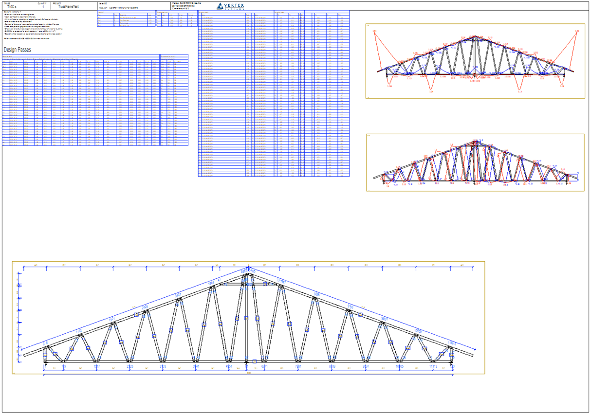 Vertex bd 2015 what s new vertex systems oy for Truss layout plan